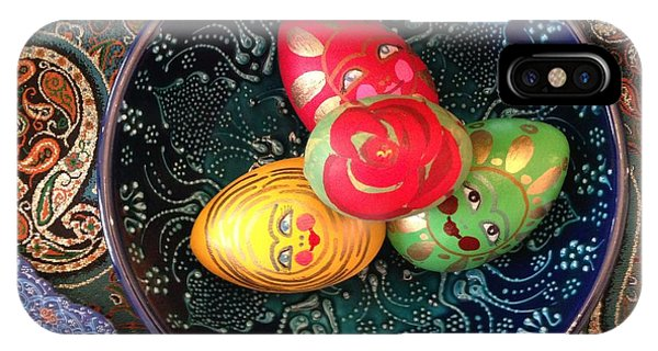 Hand Painted Eggs- Arezoo IPhone Case