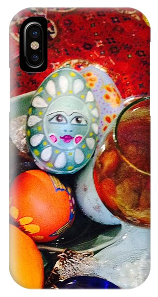 Hand Painted Eggs- Azadeh IPhone Case