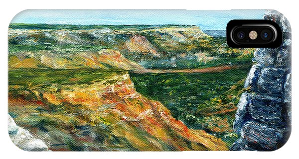 Hand Painted Palo Duro Texas Landscape IPhone Case