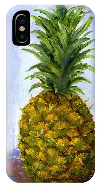 Hand Painted Pineapple Fruit  IPhone Case