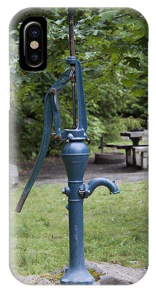 Hand Water Pump 03 IPhone Case