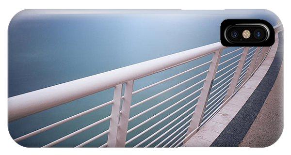 Handrail Above Sea IPhone Case