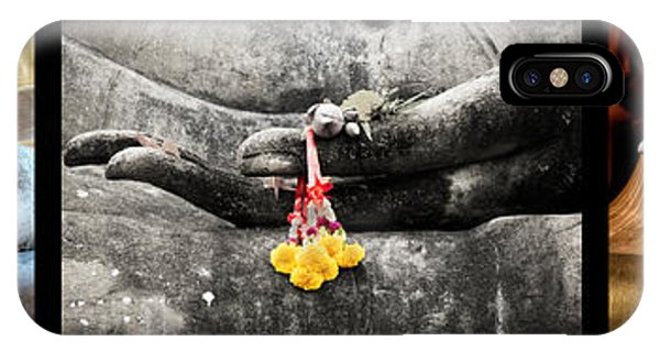 Hands Of Buddha IPhone Case