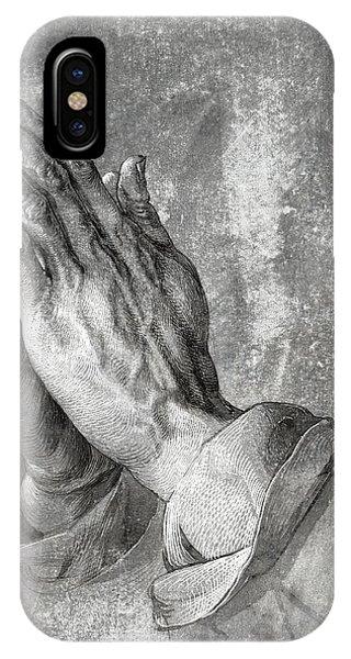 Hands Of Prayer  1508 IPhone Case