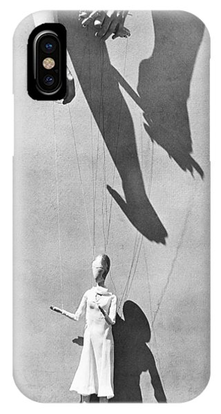 Free Will iPhone Case - Hands Of The Puppeteer, 1929 by Tina Modotti