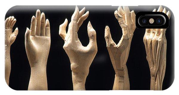 Craftsman iPhone Case - Hands Of Wood Puppets by Bernard Jaubert