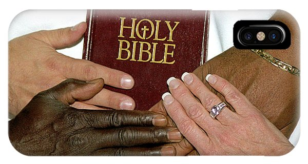 Hands On Bible IPhone Case