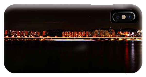Hangang And Seoul Night Scene Panorama Phone Case by Phoresto Kim
