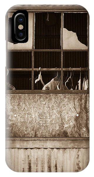 Hangers In The Window IPhone Case