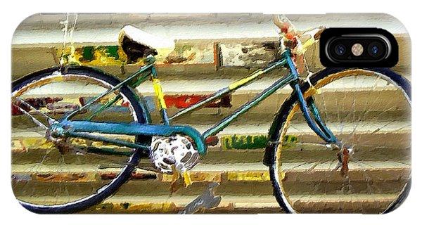 Hanging Bike IPhone Case