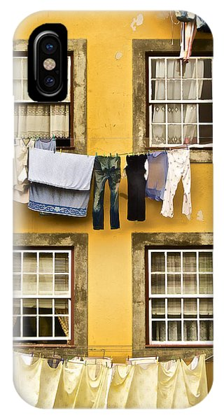 Hanging Clothes Of Old World Europe IPhone Case
