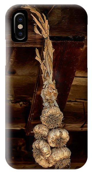 Hanging Garlic IPhone Case