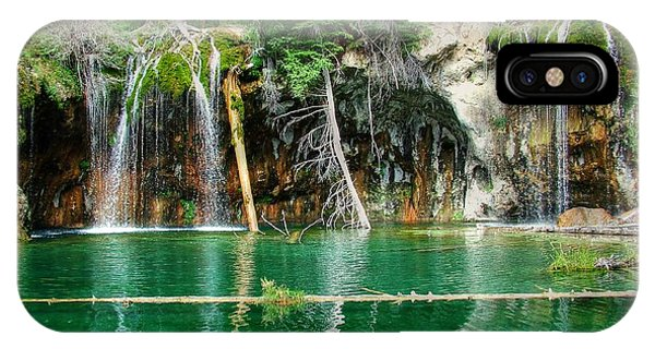 Hanging Lake 1 IPhone Case