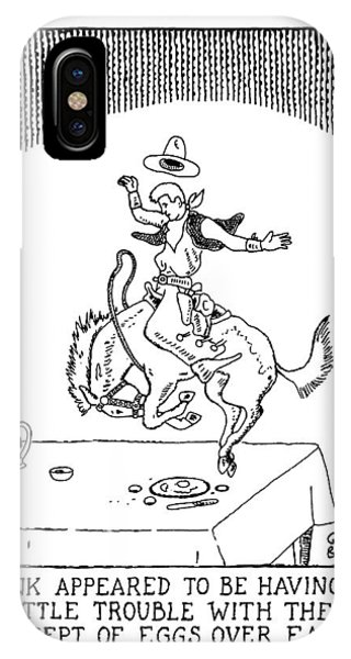 Hank Appeared To Be Having A Little Trouble IPhone Case