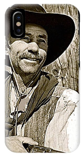 Hank Worden Publicity Photo Red River 1948-2013 IPhone Case