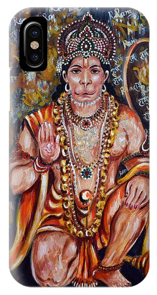 Hanuman IPhone Case