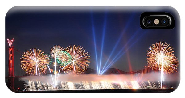 Happy 75th Birthday Golden Gate Bridge IPhone Case