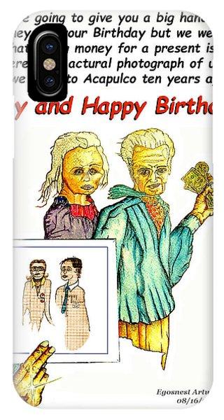 Happy Birthday Office Memo Employee IPhone Case