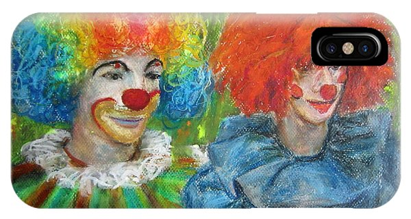 Gemini Clowns IPhone Case