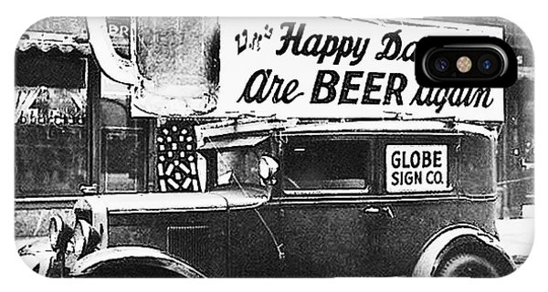 iPhone Case - Happy Days Are Beer Again by Digital Reproductions