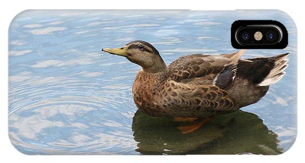 Happy Duck IPhone Case