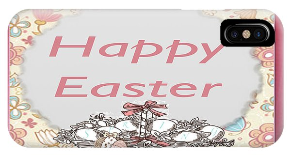 Happy Easter Basket Phone Case by Debra     Vatalaro