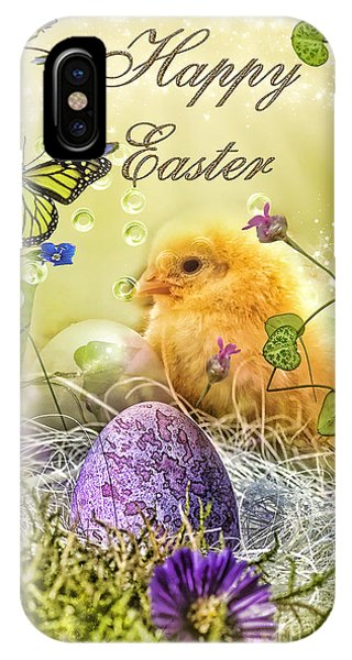 Mo iPhone Case - Happy Easter by Mo T