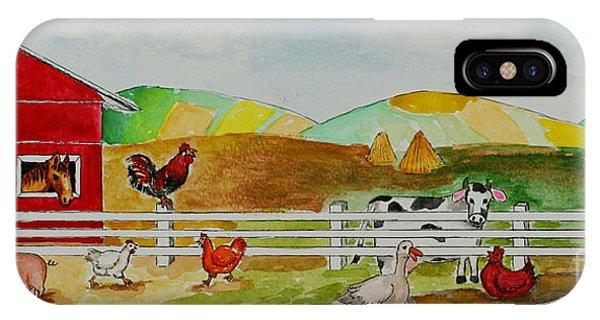 Happy Farm IPhone Case