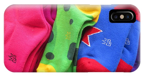 Wear Loud Socks IPhone Case
