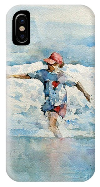 iPhone Case - Happy Girl by Natalia Eremeyeva Duarte