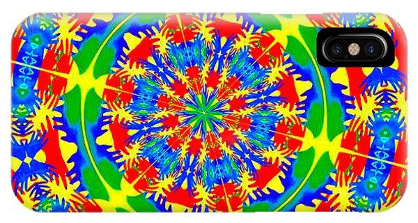 Happy Hands Mandala IPhone Case