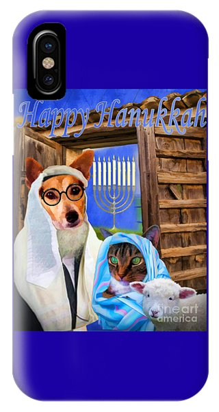 Happy Hanukkah  - 2 IPhone Case
