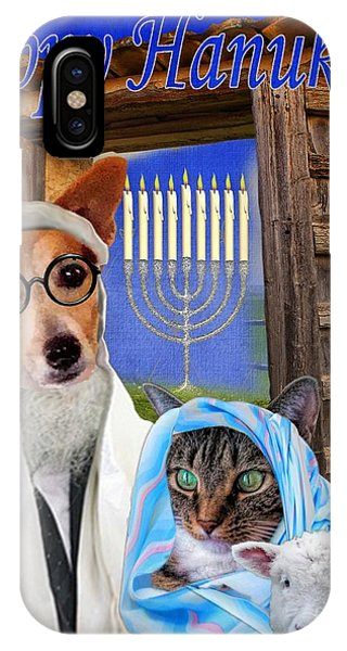 Happy Hanukkah -1 IPhone Case