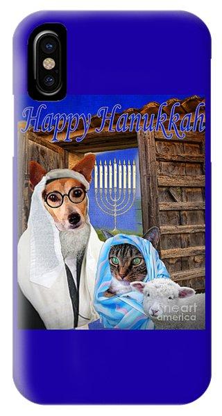 Happy Hanukkah -1 IPhone Case