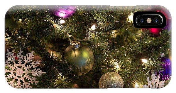 Happy Holidays IPhone Case
