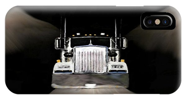 Kenworth iPhone Case - Happy Hunting Grounds by Dennis Buckman