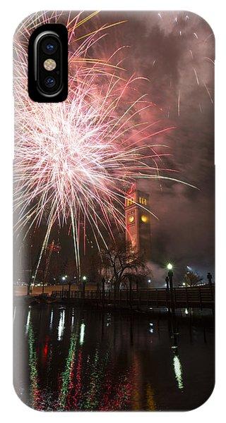 Happy New Year 2014 B IPhone Case