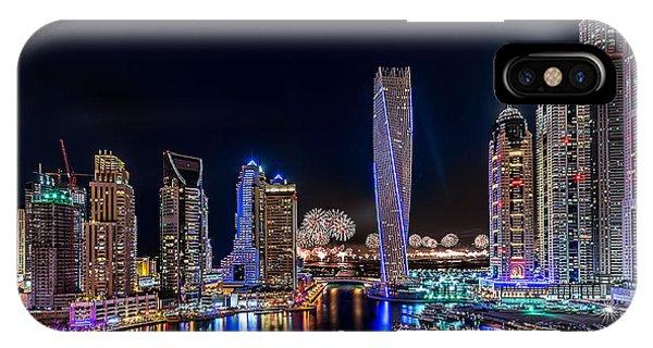 Happy New Year Dubai IPhone Case