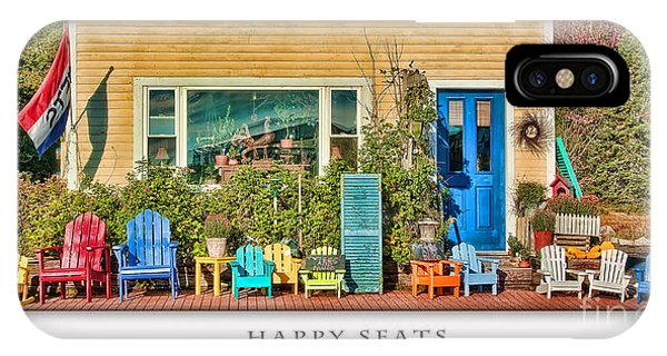 Happy Seats IPhone Case