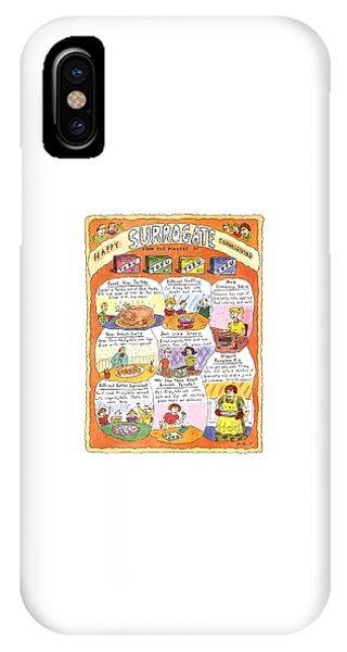Happy Surrogate Thanksgiving IPhone Case