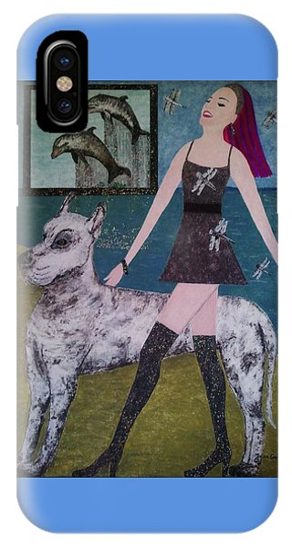 Happy Walk By Jasna Gopic IPhone Case