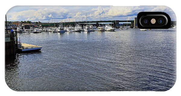 Harbor At Newburyport Ma 3 IPhone Case