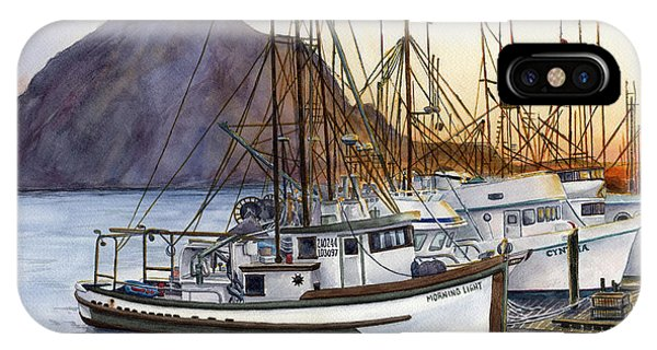 Fishing Boat iPhone Case - Harbor Home by Karen Wright