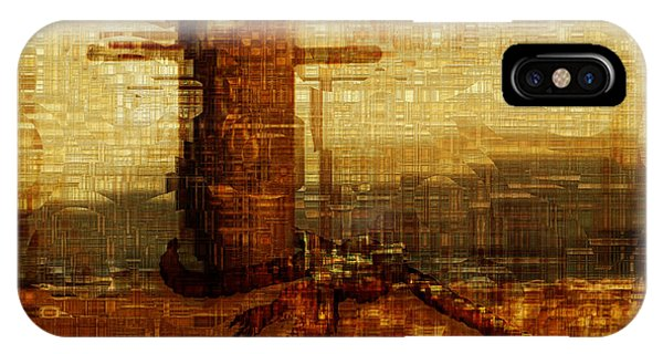 Visual Illusion iPhone Case - Harbor by Jack Zulli