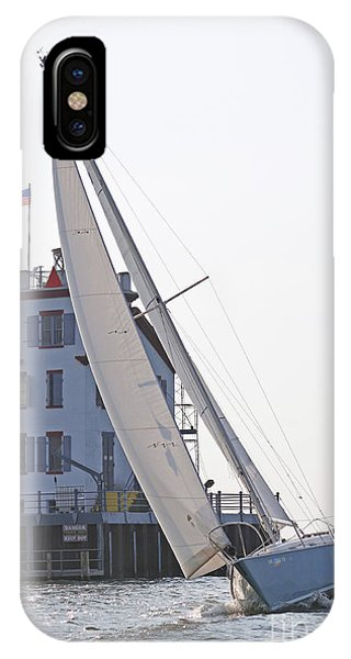Harbor Sailing Two IPhone Case