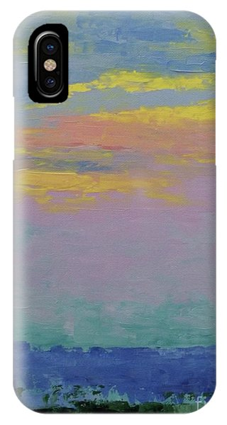 Harbor Sunset IPhone Case