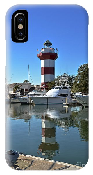 Harbor Town Lighthouse IPhone Case