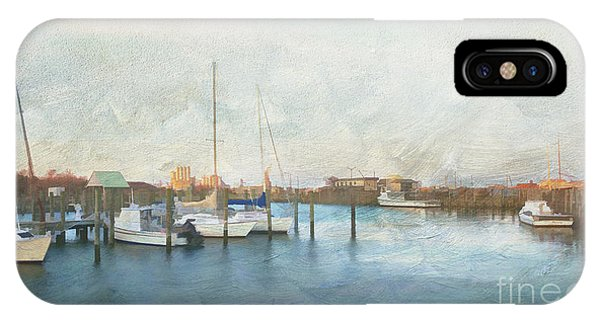 Harbor Morning IPhone Case