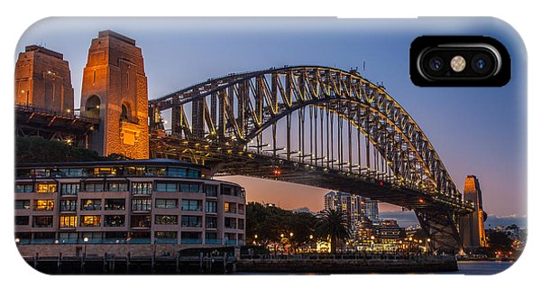 Harbour Bridge Phone Case by Dasmin Niriella