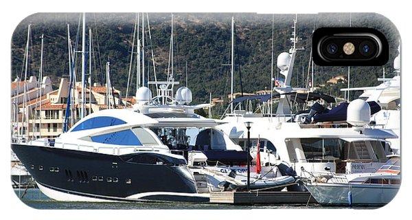 Harbour Docking Scene IPhone Case
